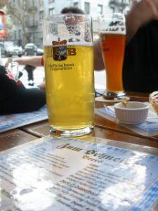 Exclusive Bavarian Import Brews Found At NYC Indoor BierGarten