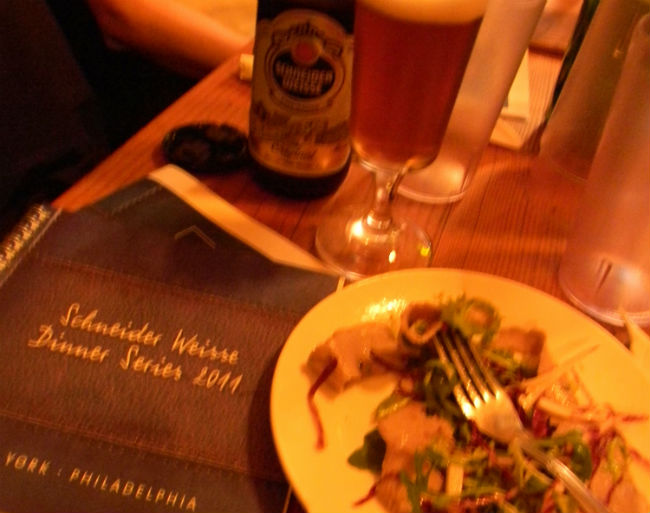 Schneider Weisse Dinner Series 2011 Hits New York & Philadelphia